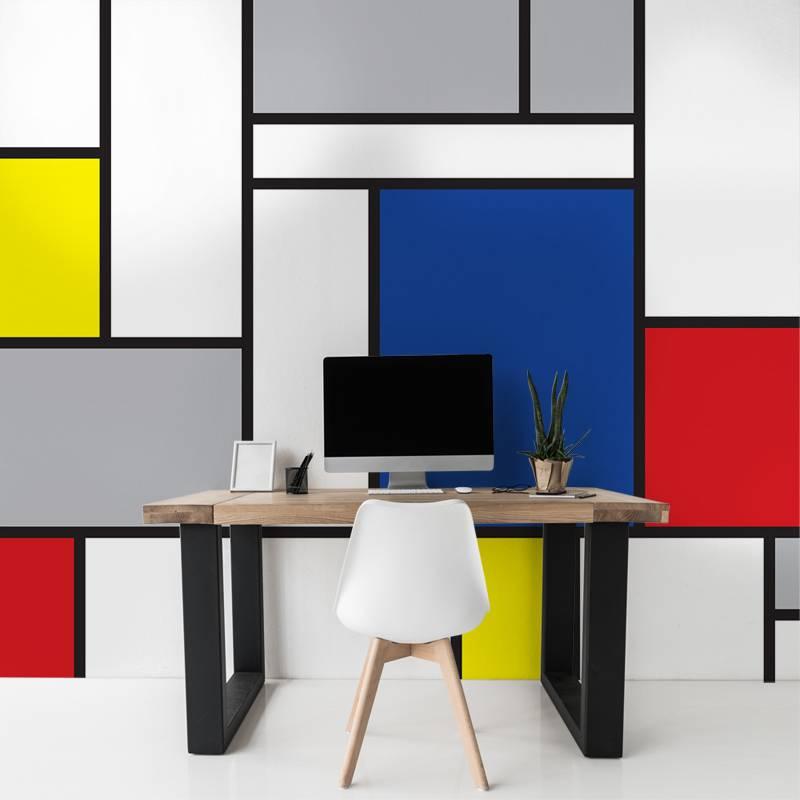 Fotobehang in een strak design: voor een industrieel interieur