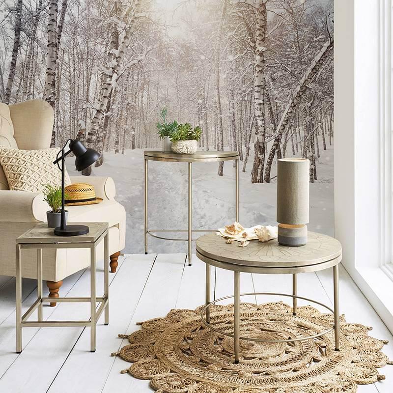 De seizoenen aan je muur: van winter tot aan herfst