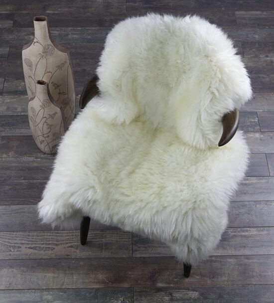 schapenwollen kleed luxe
