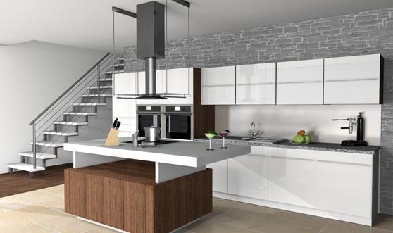 Strakke keuken met veel details
