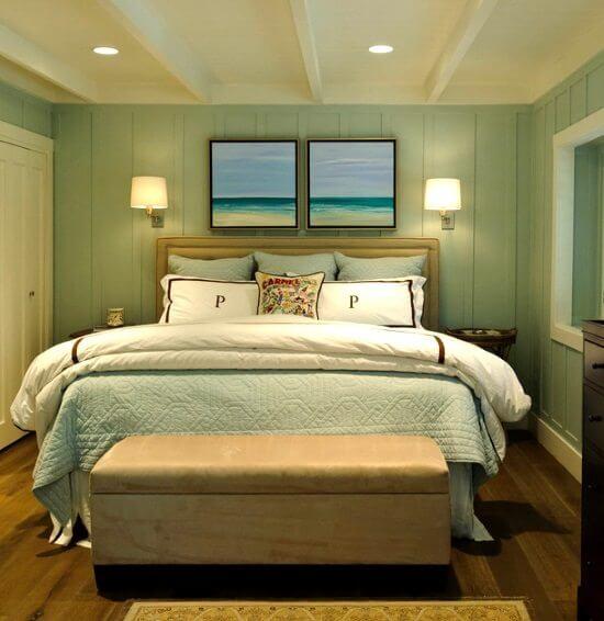 6x toffe items om boven je bed te hangen ik woon fijn - Trend schilderij slaapkamer ...
