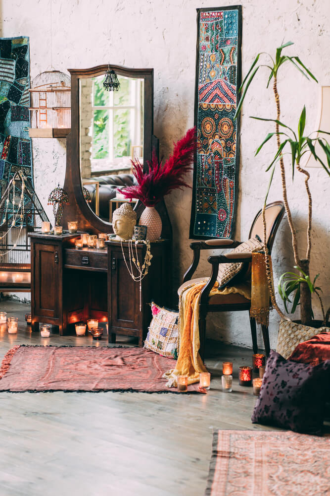 bohemian look interieur
