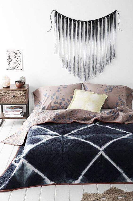 macrame hanger boven je bed