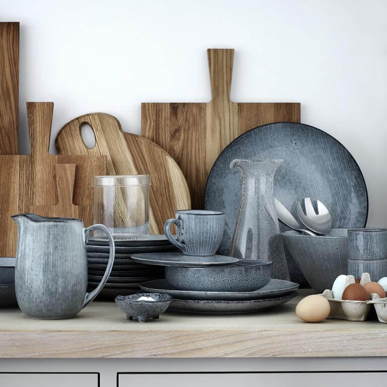 aardewerken servies nordic sea broste