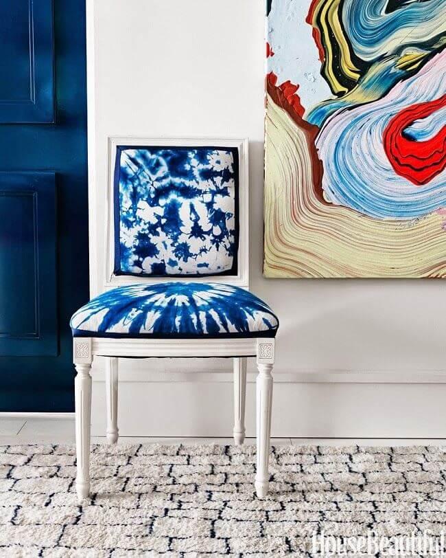 shibori stoel