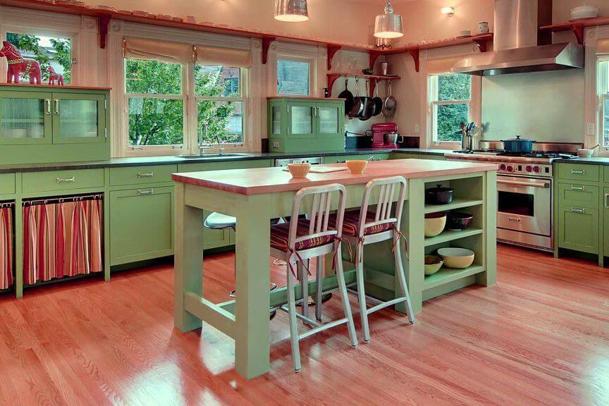 appeltjesgroen keuken