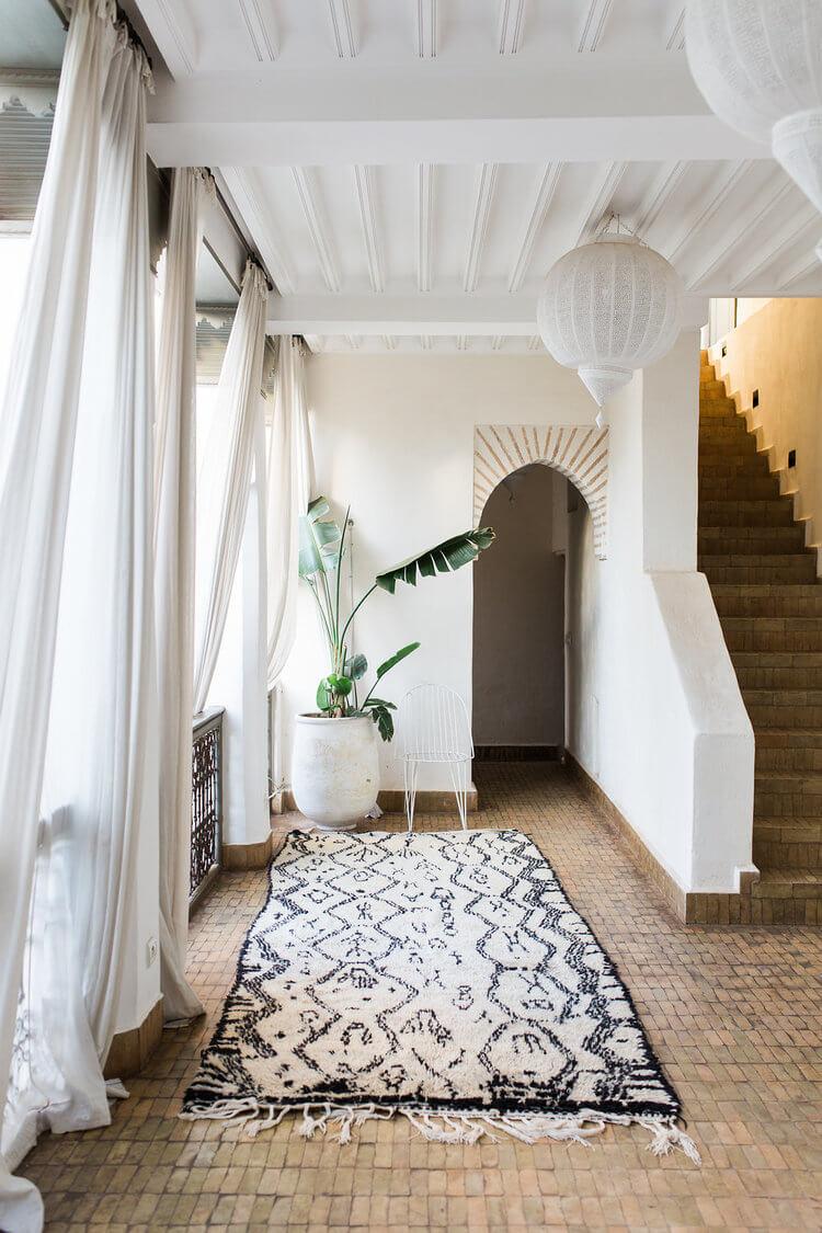 marokkaanse look naturel