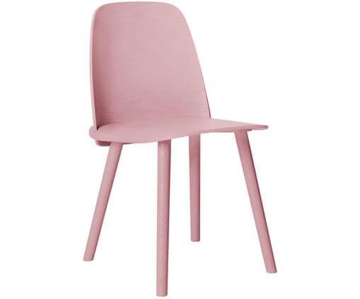 roze stoel muuto