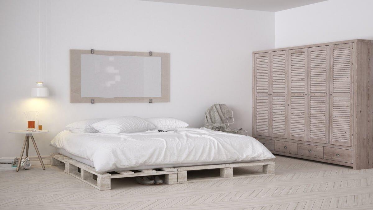 slaapkamer rust