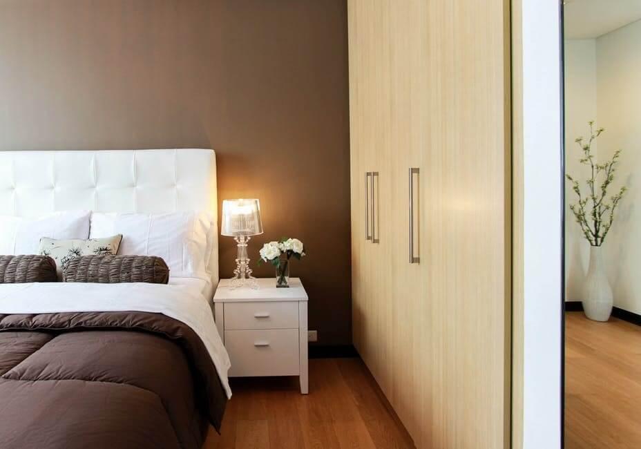 slaapkamer hotel luxe