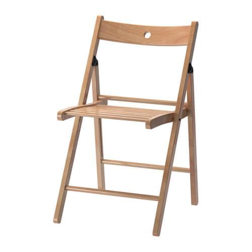 houten klapstoel