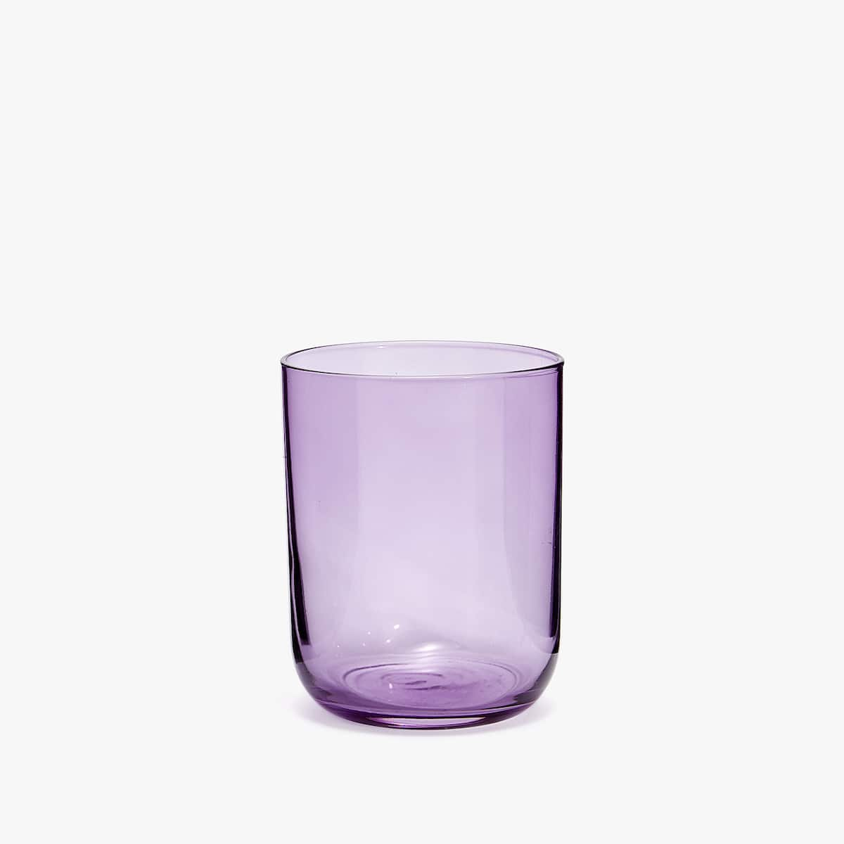 paars drinkglas