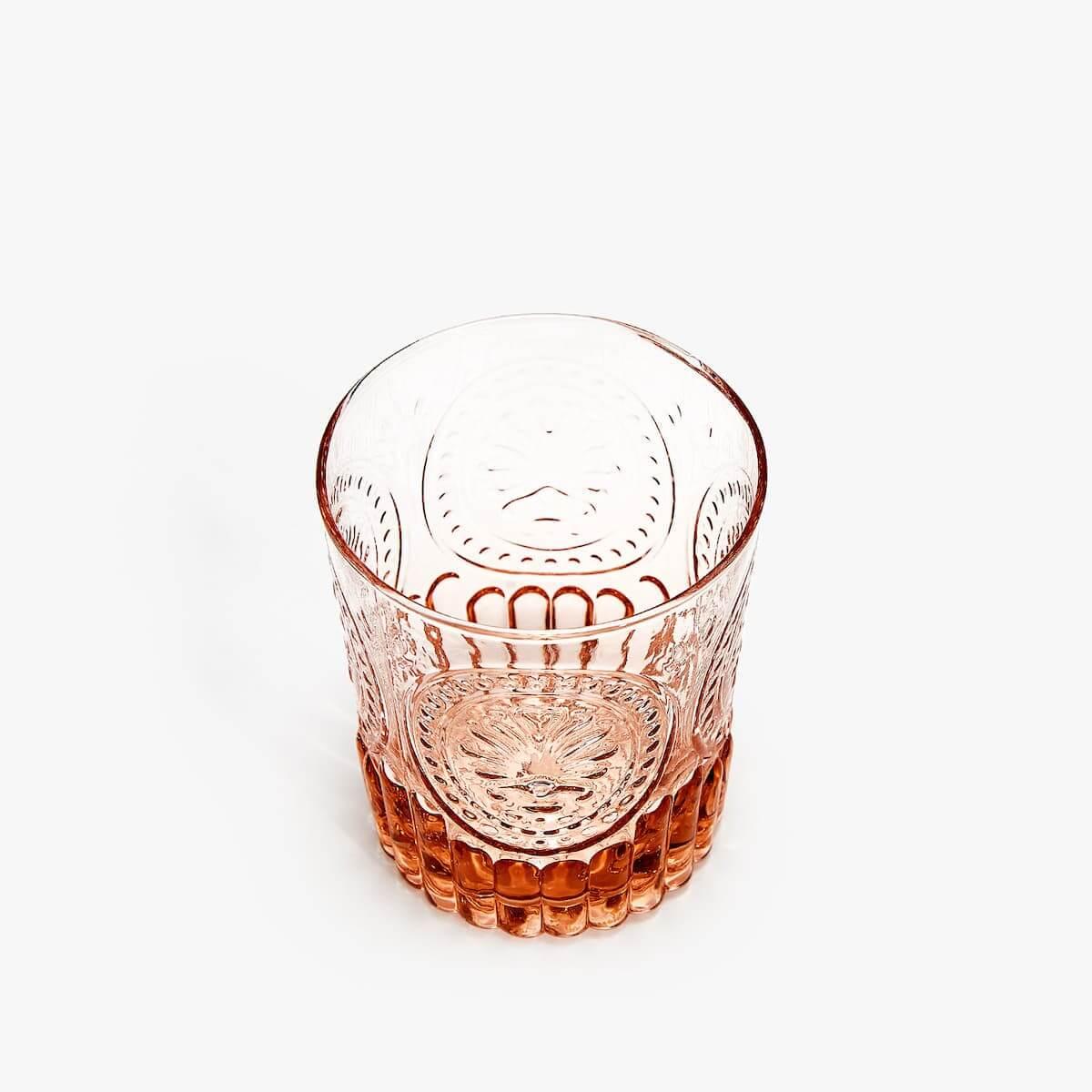 oranje drinkglas marokkaans