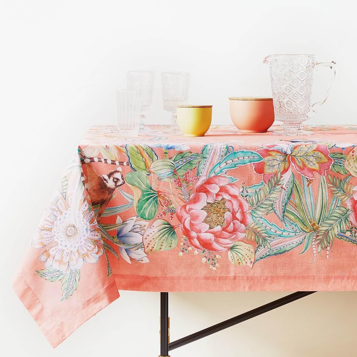 zomers tafel dekken