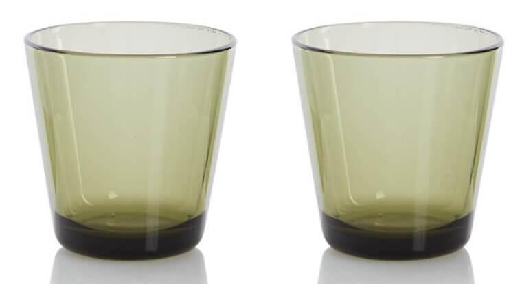 groen drinkglas