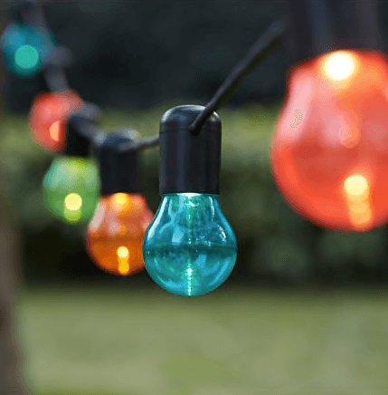gekleurde lichtjes tuin ikea