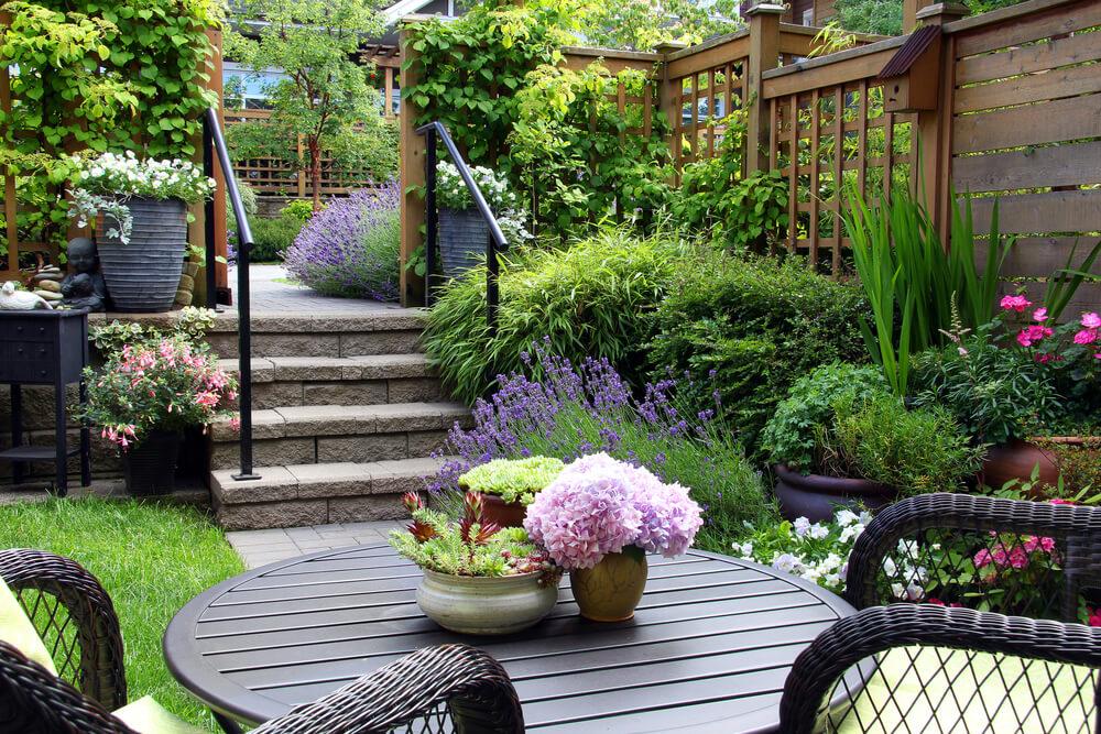 Fijne Tuin Inrichting : Optimaal inrichten van een rechthoekige tuin ik woon fijn