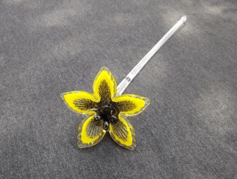 glazen bloem tuin