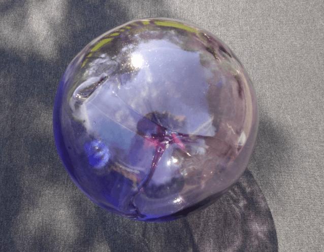 glazen bol tuin