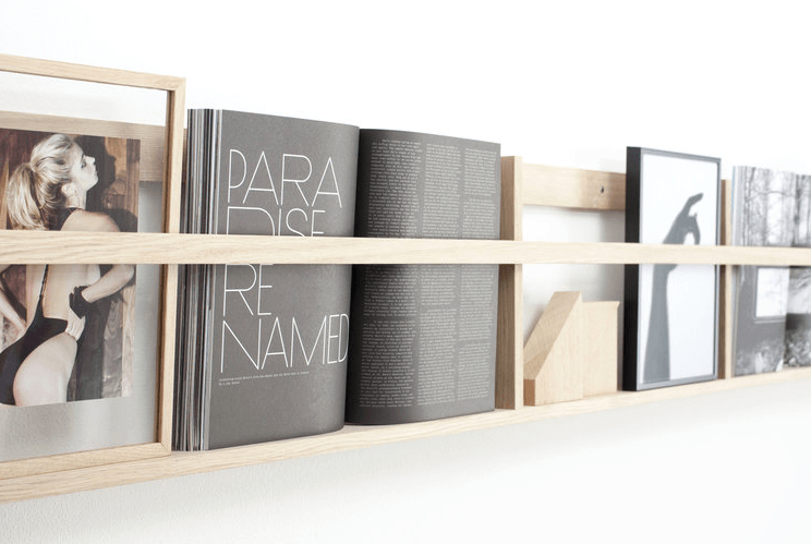 Tijdschriftenrek scandinavisch design