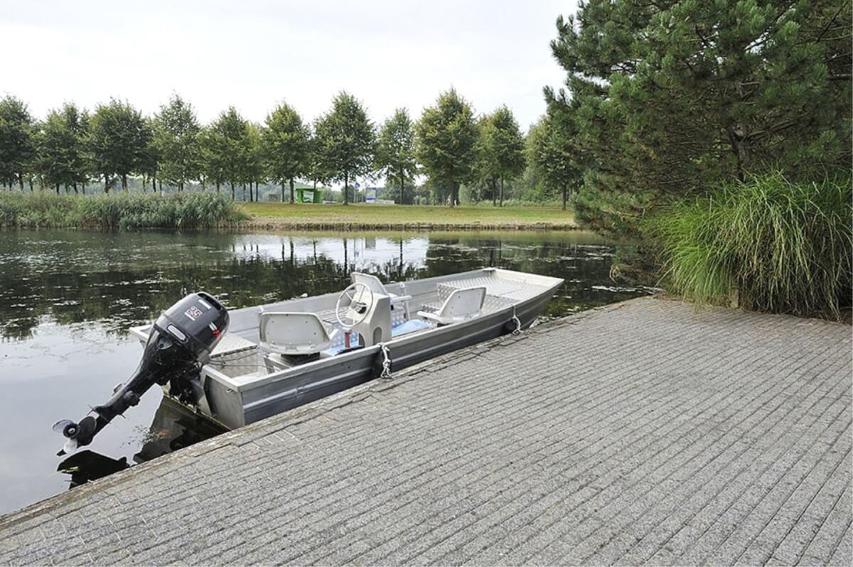 Almere aanlegplaats villa