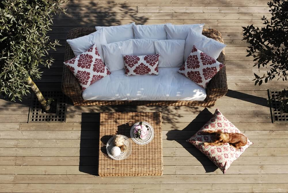 Loungeset modern tuin