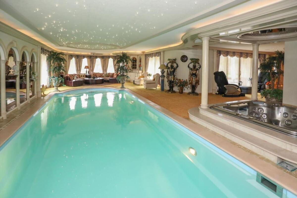 Wierden luxe zwembad