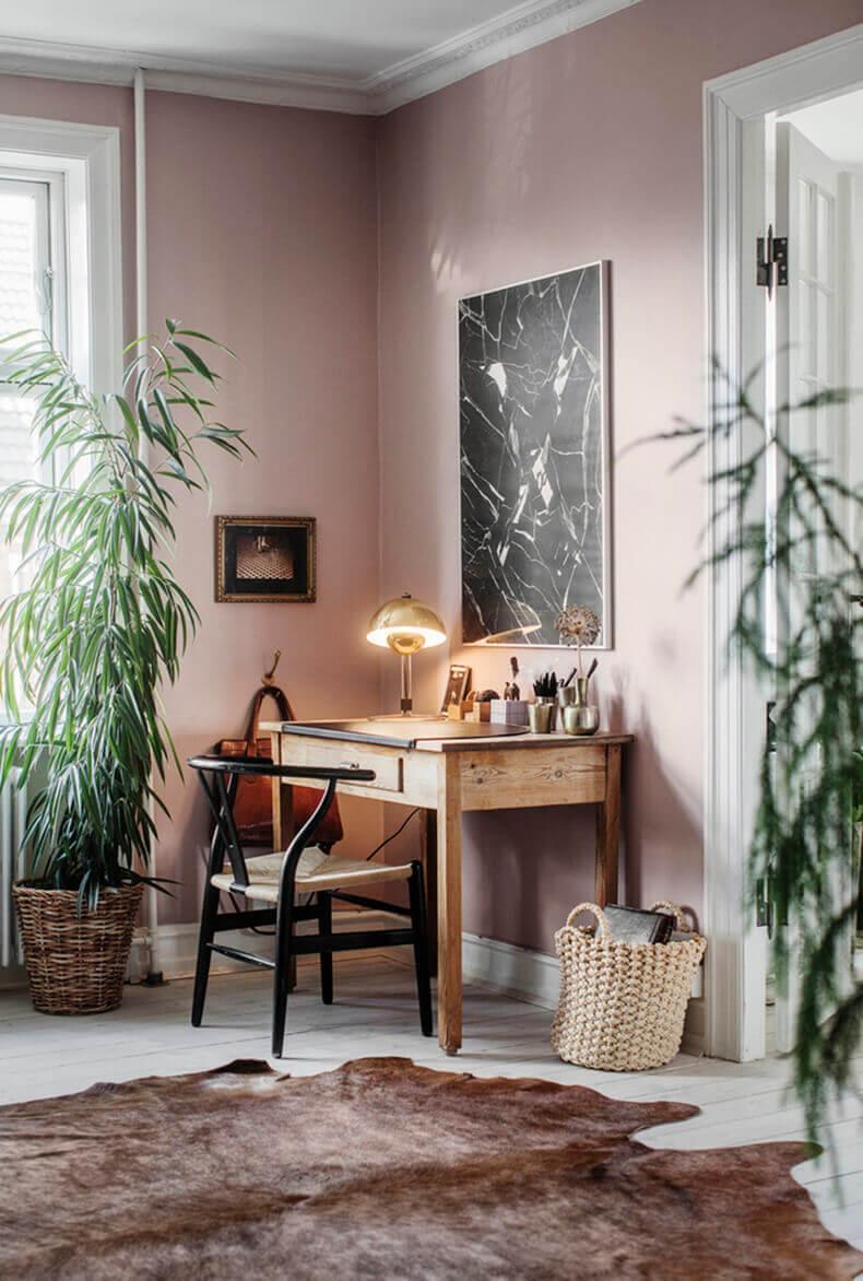 roze kantoor