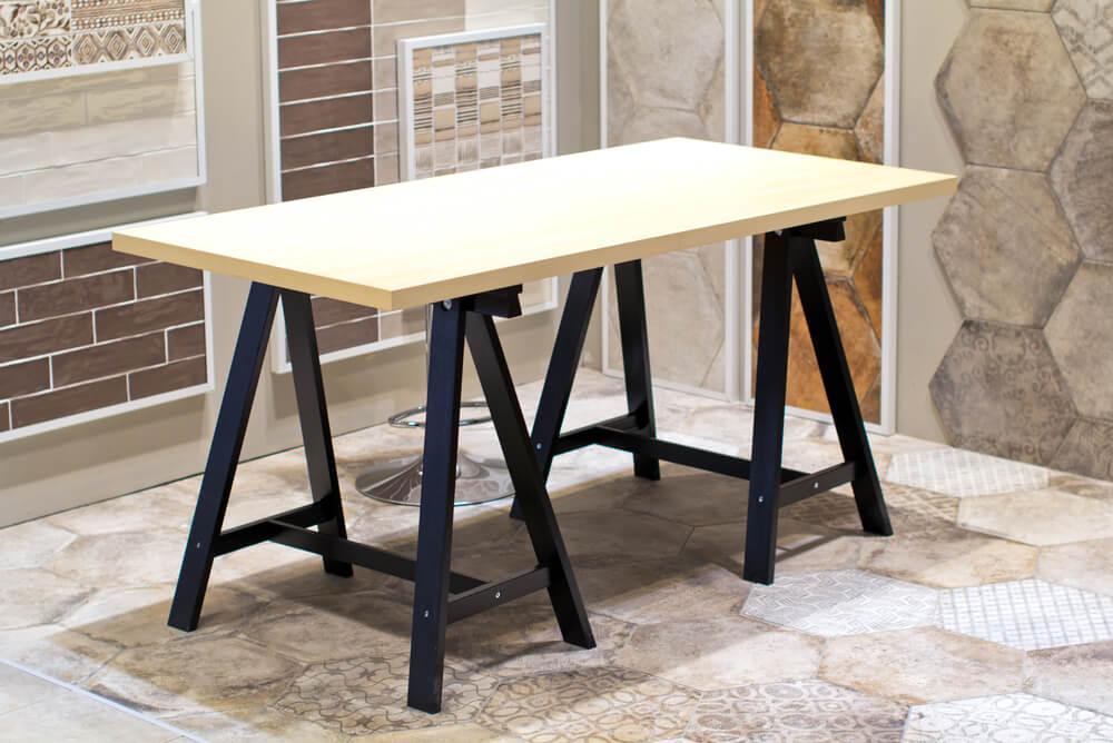 Houten tafelblad kopen best tafel op schragen ud afbeelding
