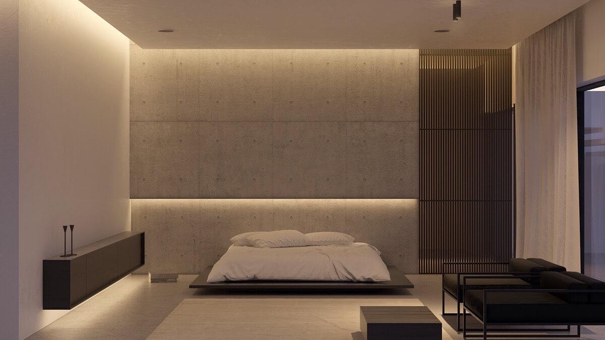 grijs slaapkamer