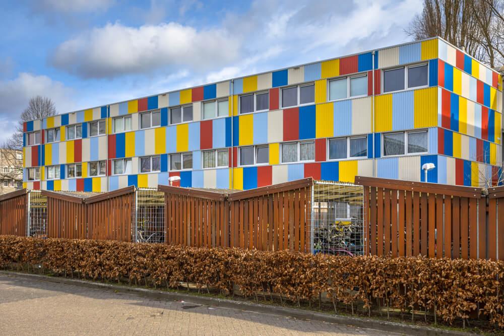 Containerwoningen als studentenflat