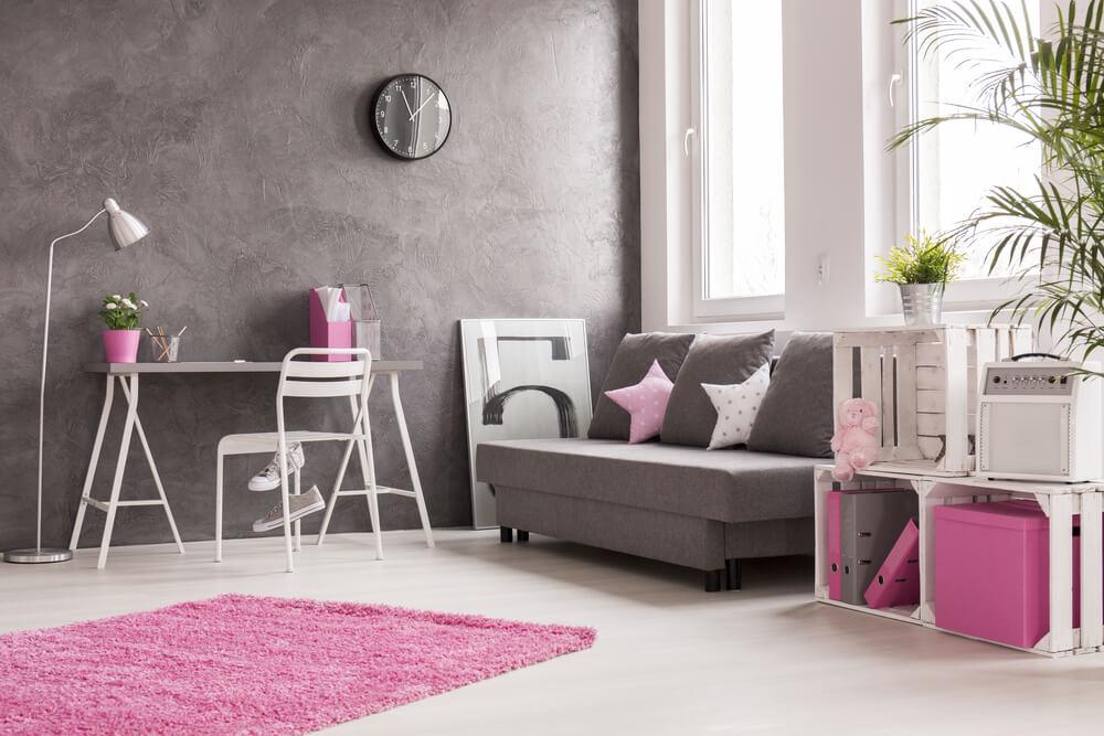 Kleine roze accessoires