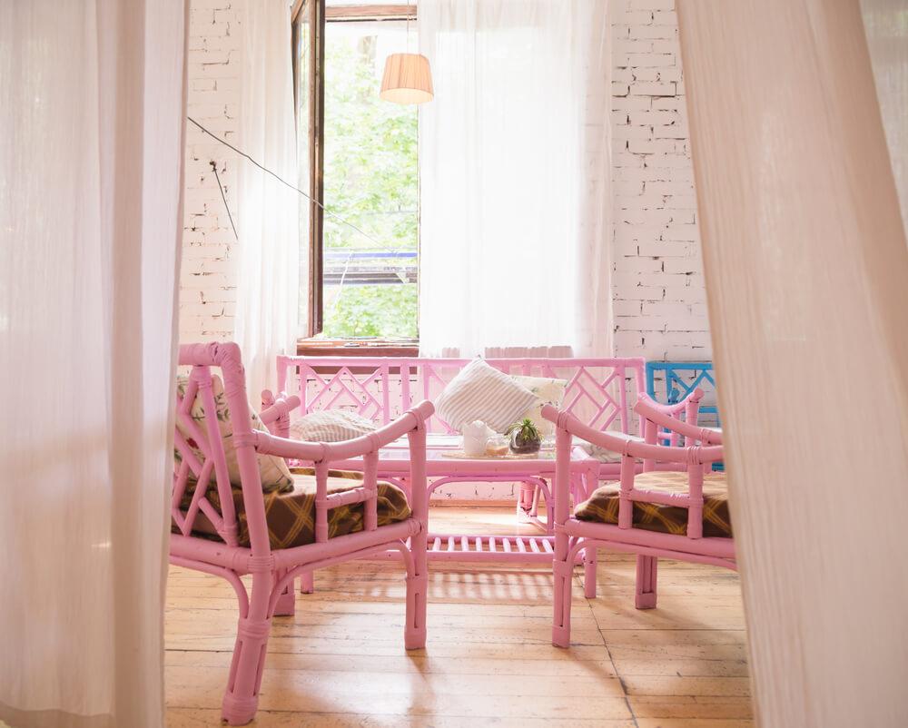 Roze serre