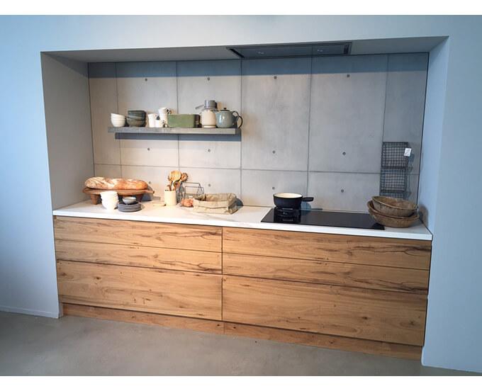 betontegel keuken