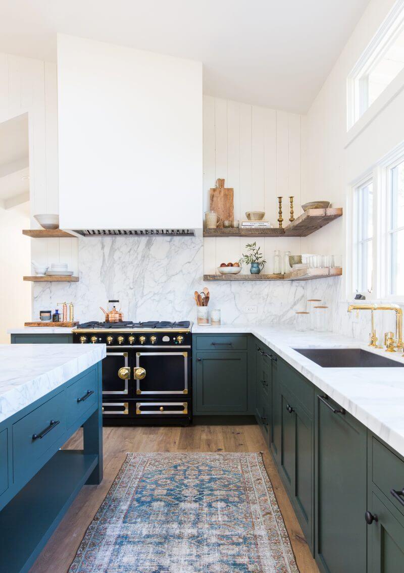achterwand keuken marmer blad