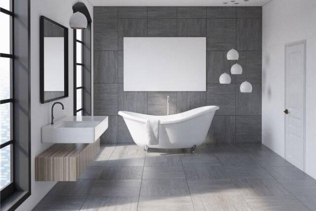 Breng sfeer in je badkamer met vloertegels | Ik woon fijn
