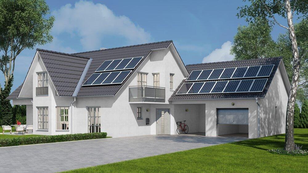 zonne-energie produceren