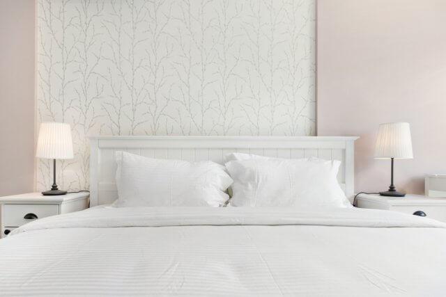 Interieur Slaapkamer Behang : Bijzonder mooi behang in de slaapkamer ik woon fijn
