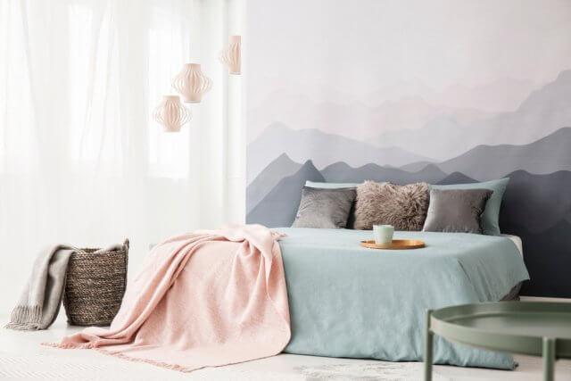 Behang Prints Opvallend : 5x bijzonder mooi behang in de slaapkamer ik woon fijn