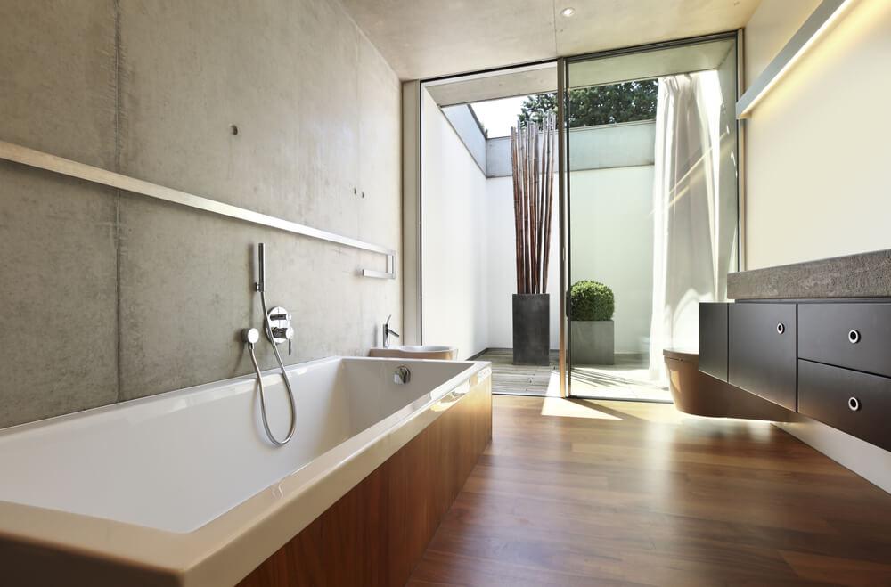 Badkamer Beton Interieur : Inspiratie beton in de badkamer ik woon fijn