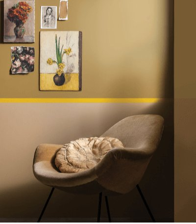 okergoud interieur styling