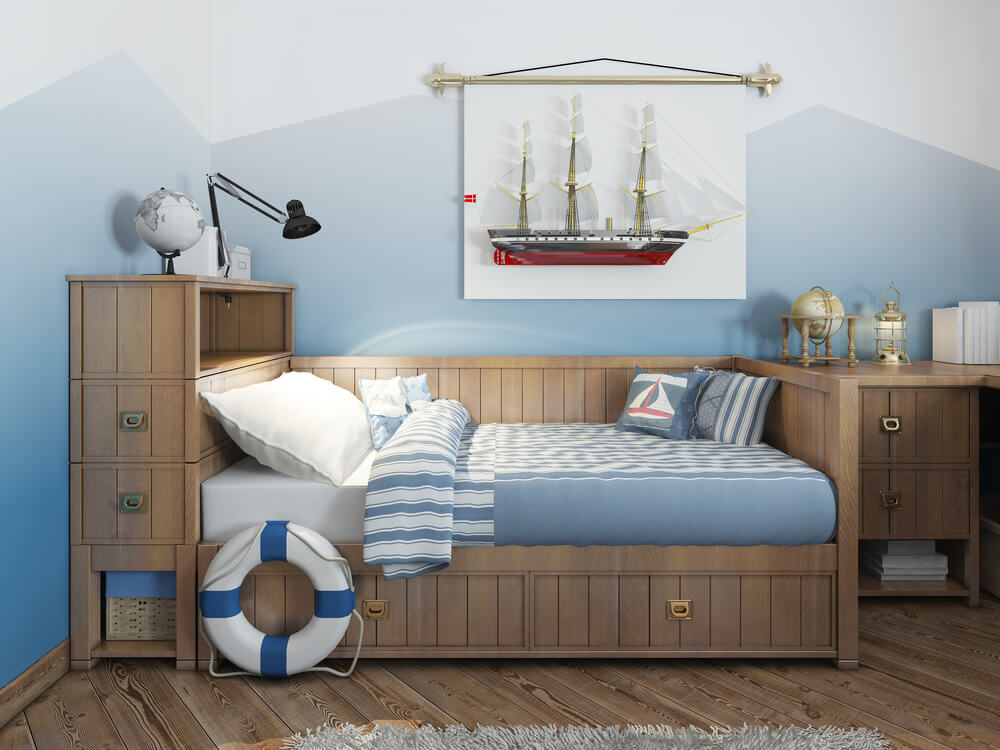 Kinderkamer zee marine