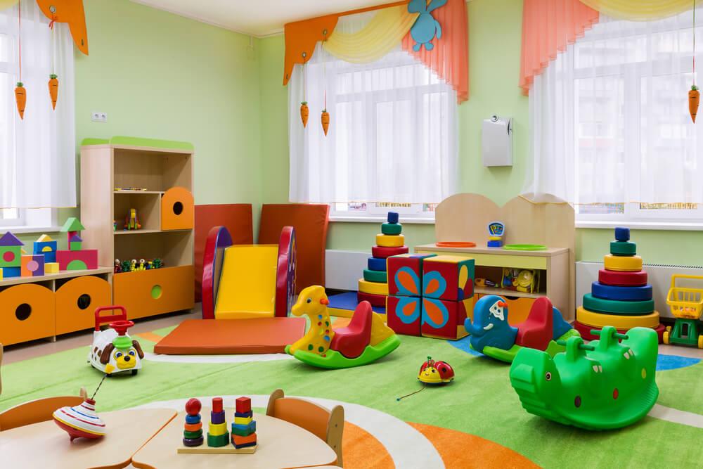 Kinderkamer speelkamer