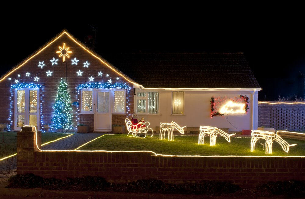 Kerstverlichting lichtslangen