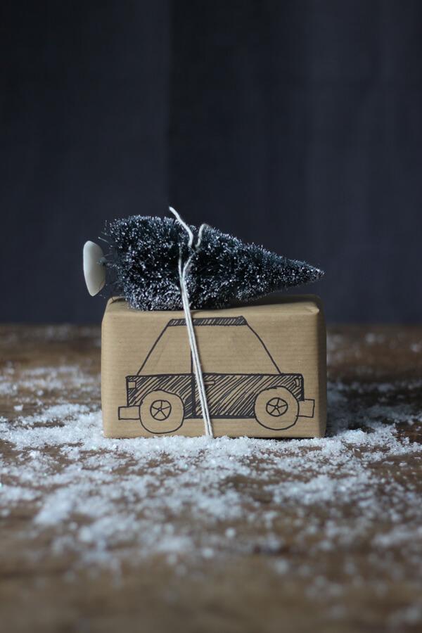 cadeau inpakken kerst