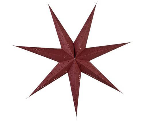 rode accessoires interieur kerst