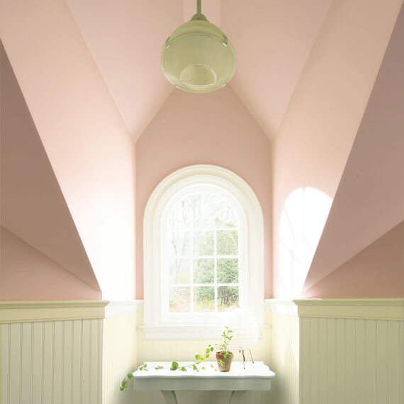 geverfd plafond