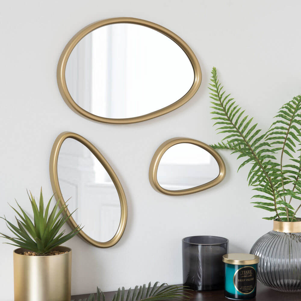 asymmetrische spiegel