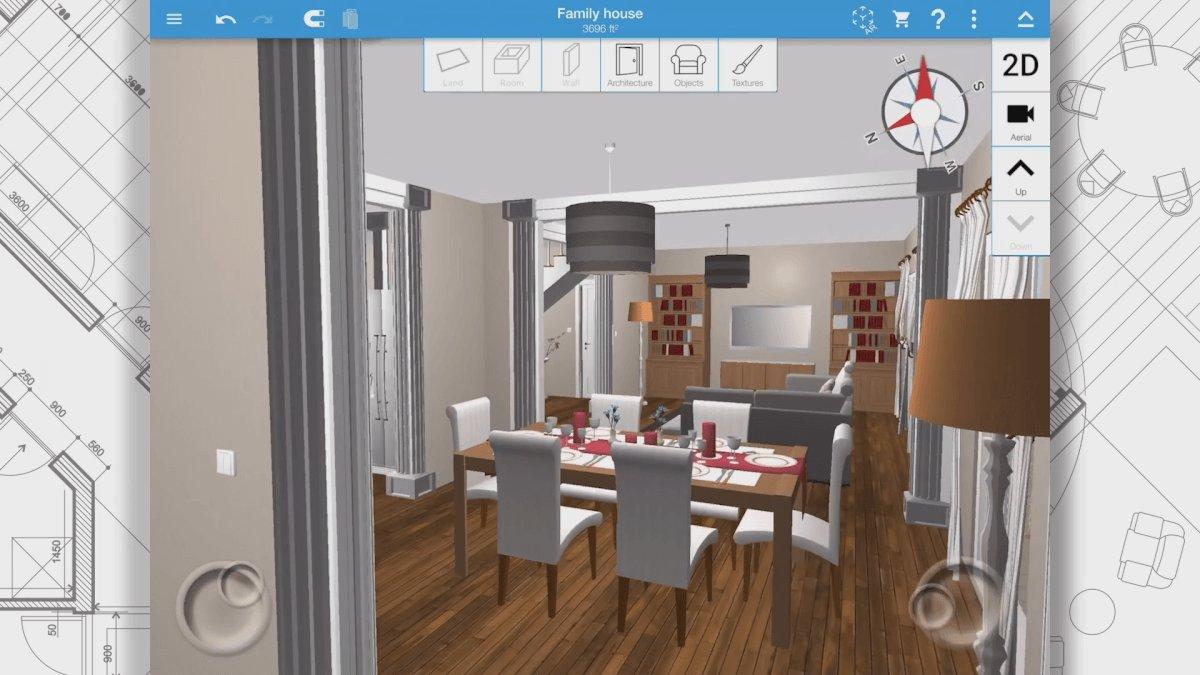 Top 10 iphone apps voor je interieur ik woon fijn for Woonkamer intekenen