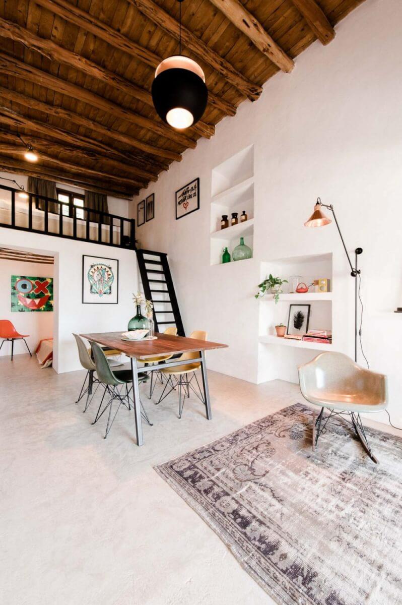 Ibiza stijl interieur